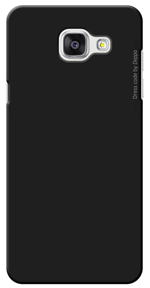 Deppa Air Case чехол для Samsung Galaxy A5(2016), Black83228Чехол Deppa Air Case для Samsung Galaxy A5(2016) предназначен для защиты корпуса смартфона от механических повреждений и царапин в процессе эксплуатации. Имеется свободный доступ ко всем разъемам и кнопкам устройства. Чехол изготовлен из поликарбоната Teijin производства Японии с покрытием Soft touch.