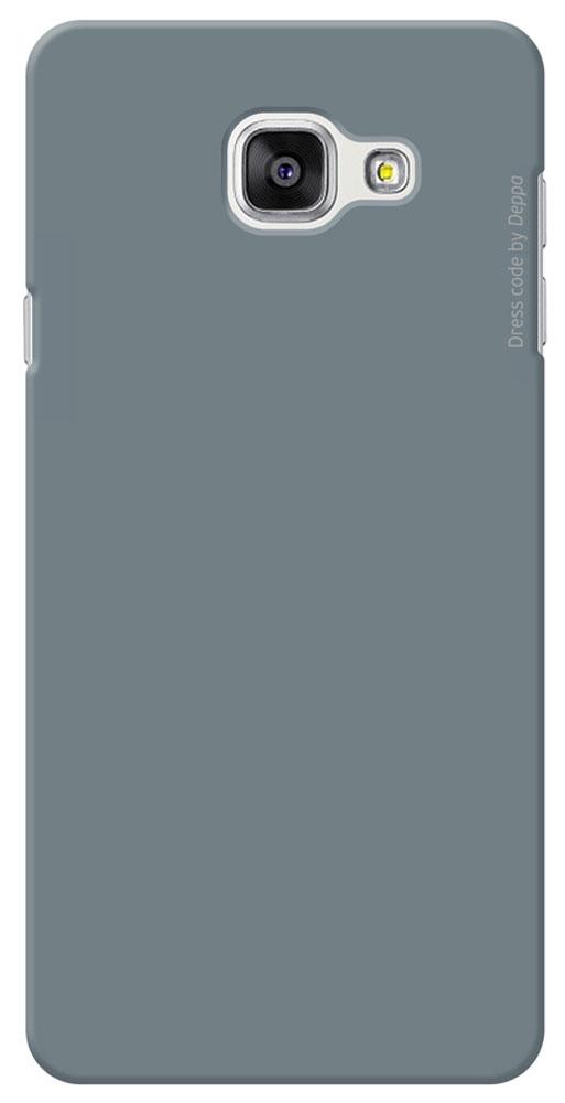 Deppa Air Case чехол для Samsung Galaxy A7(2016), Gray83237Чехол Deppa Air Case для Samsung Galaxy A7(2016) предназначен для защиты корпуса смартфона от механических повреждений и царапин в процессе эксплуатации. Имеется свободный доступ ко всем разъемам и кнопкам устройства. Чехол изготовлен из поликарбоната Teijin производства Японии с покрытием Soft touch.