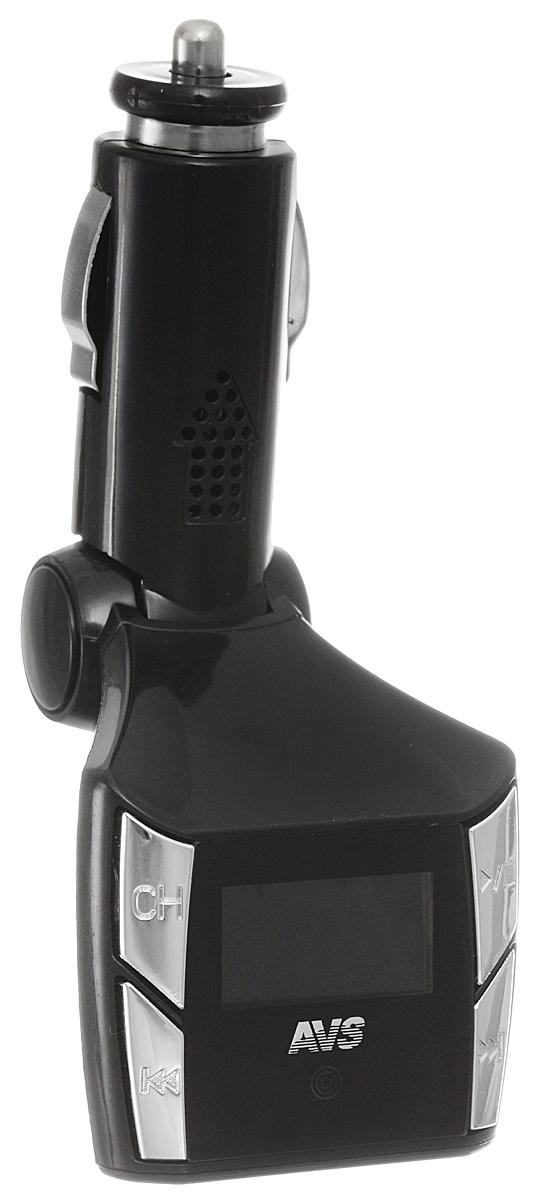 AVS F-507, Black MP3-плеер + FM-трансмиттер с дисплеем и пультом