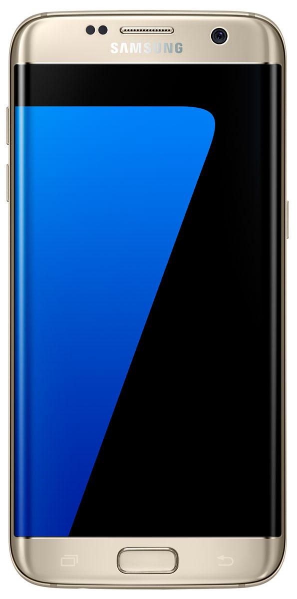 Samsung SM-G935F Galaxy S7 Edge (32GB), GoldSM-G935FZDUSERSamsung Galaxy S7 edge - это уже не просто телефон + КПК, это настоящий чудо-проводник в мире современных цифровых технологий, который умещается у вас в кармане. Данная модель - незаменимый помощник буквально на каждый день: начиная от банальных выходов в интернет и навигации, и заканчивая функциями персонального тренера и даже медицинского консультанта! Смартфон Samsung Galaxy S7 edge с изогнутым с обеих сторон экраном 5,5 дюйма Quad HD Super AMOLED обладает защищенным 3D-стеклом Corning Gorilla Glass 4, создающим эффект погружения в контент, стильным дизайном и прочной конструкцией с эргономичными изгибами для удобного захвата. Новая функция Always-On Display (Всегда активный экран) предоставляет пользователям уникальную возможность упрощенного, бесконтактного использования устройства в любой ситуации. Теперь можно проверить время и календарь, не прикасаясь к экрану. Наряду с изысканным дизайном, Galaxy S7 edge имеет повышенную функциональность...