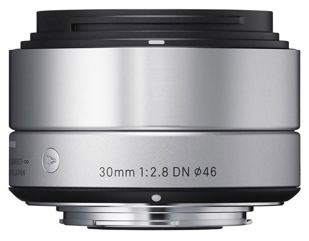 Sigma AF 30mm f/2.8 DN/A, Silver объектив для Micro 4/3