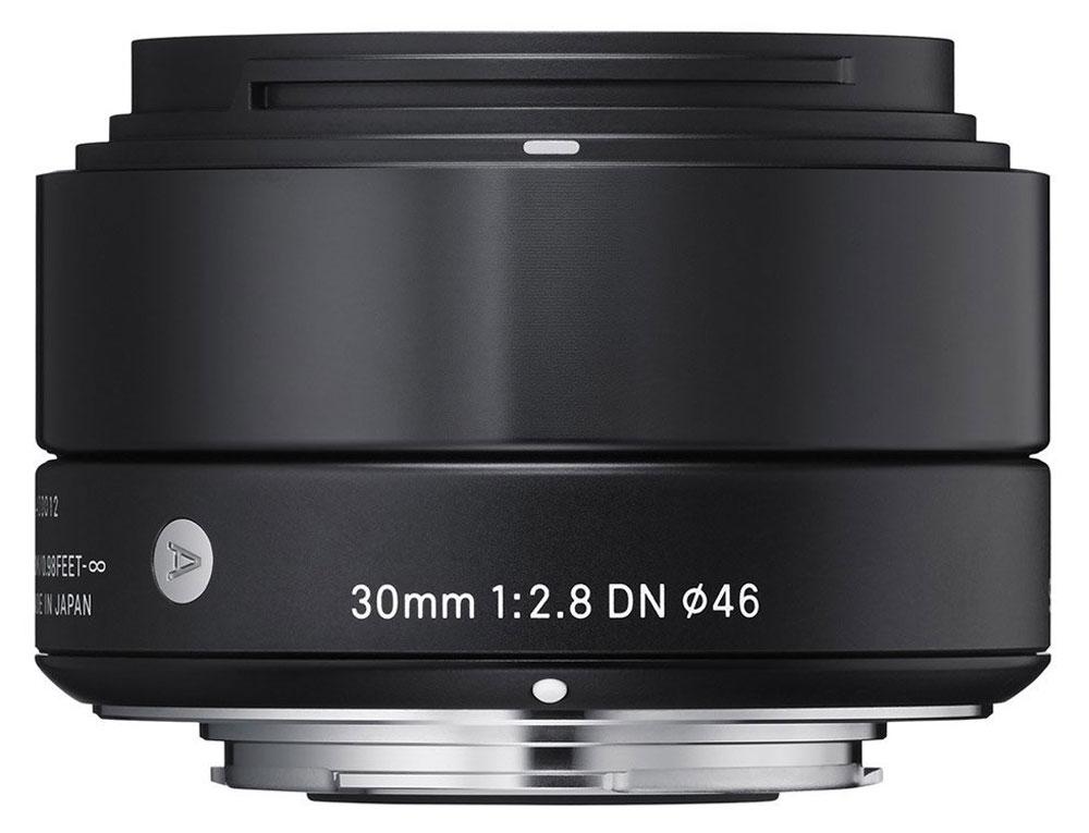 Sigma AF 30mm f/2.8 DN/A, Black объектив для Sony E (NEX)