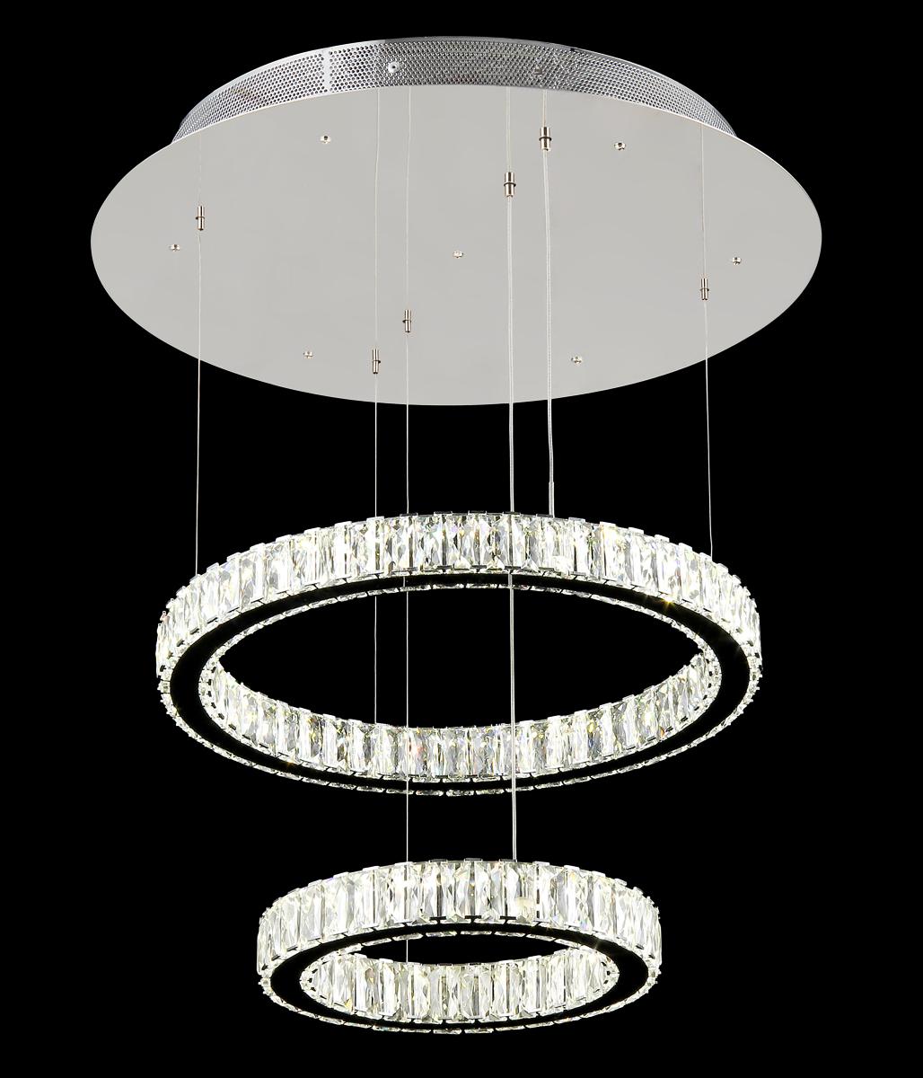Люстра Natali Kovaltseva 11271/2A CHROME, LED11271/2A CHROME, LEDD50 x H35 cm