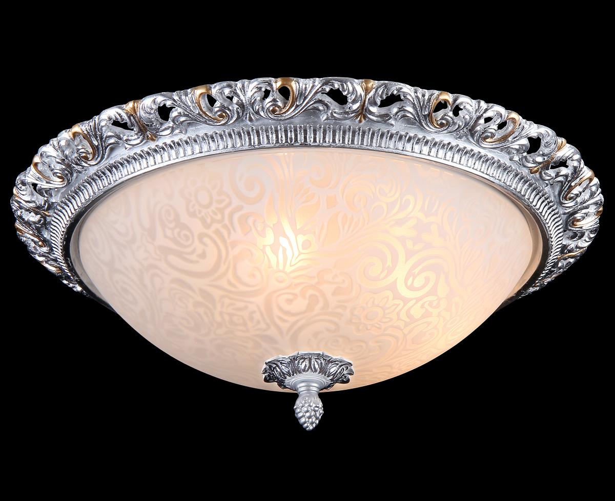 Светильник Natali Kovaltseva Gisele 10435/3С WHITE SILVER GOLDGisele 10435/3С WHITE SILVER GOLDD39 x H16 cm