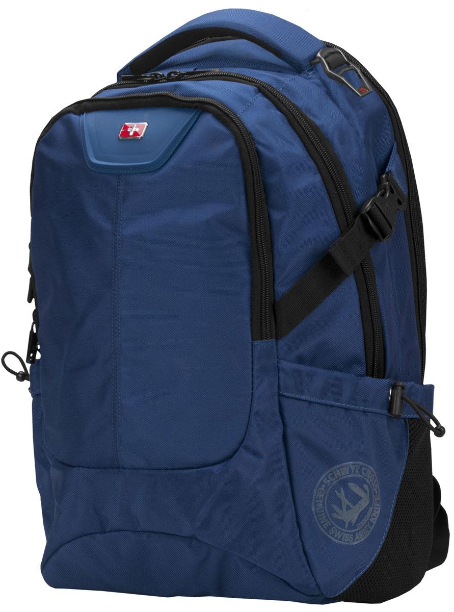 Continent BP-306, Blue рюкзак для ноутбука 16Continent BP-306 BUContinent BP-306 - комфортный и надежный рюкзак для вашего ноутбука с диагональю экрана до 16 дюймов. Рюкзак изготовлен из прочного синтетического материала, рассчитанного на частое и интенсивное использование. Все застежки отличаются высоким качеством материалов и исполнения, а также продуманы с точки зрения эргономики. Спинка оснащена дышащим слоем, что позволяет использовать его в любую погоду.