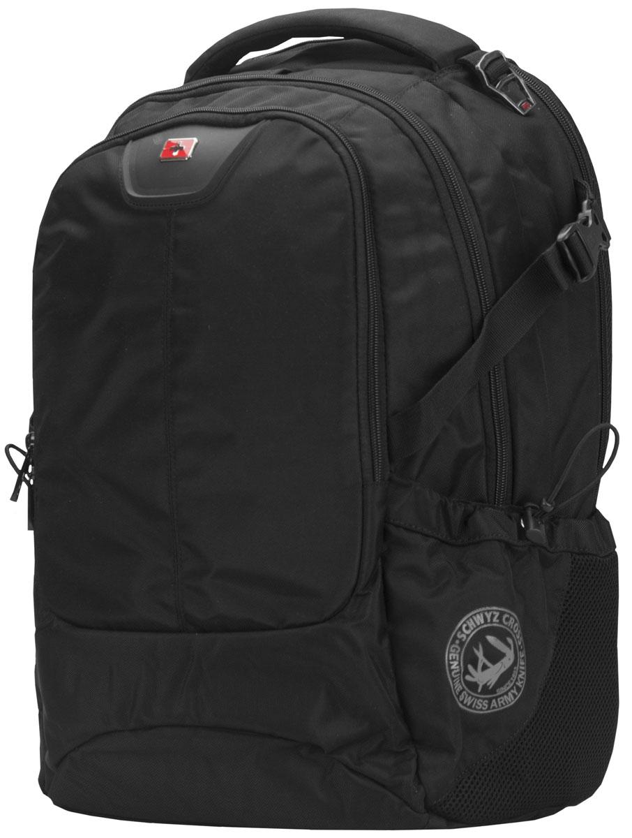 "Continent BP-307, Black рюкзак для ноутбука 16"" Continent BP-307 BK"