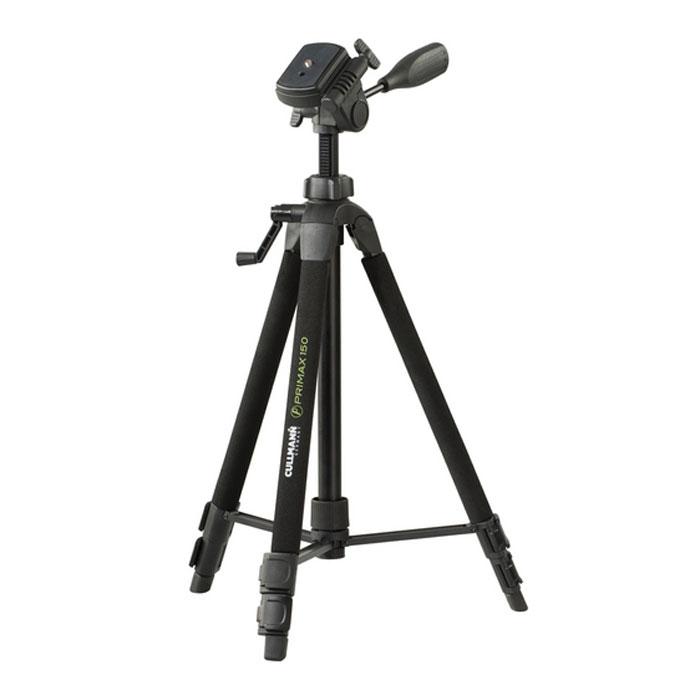 Cullmann CU-51501 Primax 150 штативCX-888Штатив Cullmann CU-51501 Primax 150 предназначен для работы с видеосистемами, вес которых не превышает 3 кг. Штатив выполнен из анодированного алюминия и весит всего 1,1 кг, что придает дополнительную устойчивость при наклонах камеры и делает его идеальным для путешествий. Штатив снабжен уровнем, который поможет добиться правильного положения фотоаппарата.Чехол, входящий в комплект выполнен из износостойкого нейлона Ножки штатива выполнены из алюминиевого профиля Поддерживает оборудование массой до 3 кг Встроенный пузырьковый уровень Нескользящие резиновые ножки