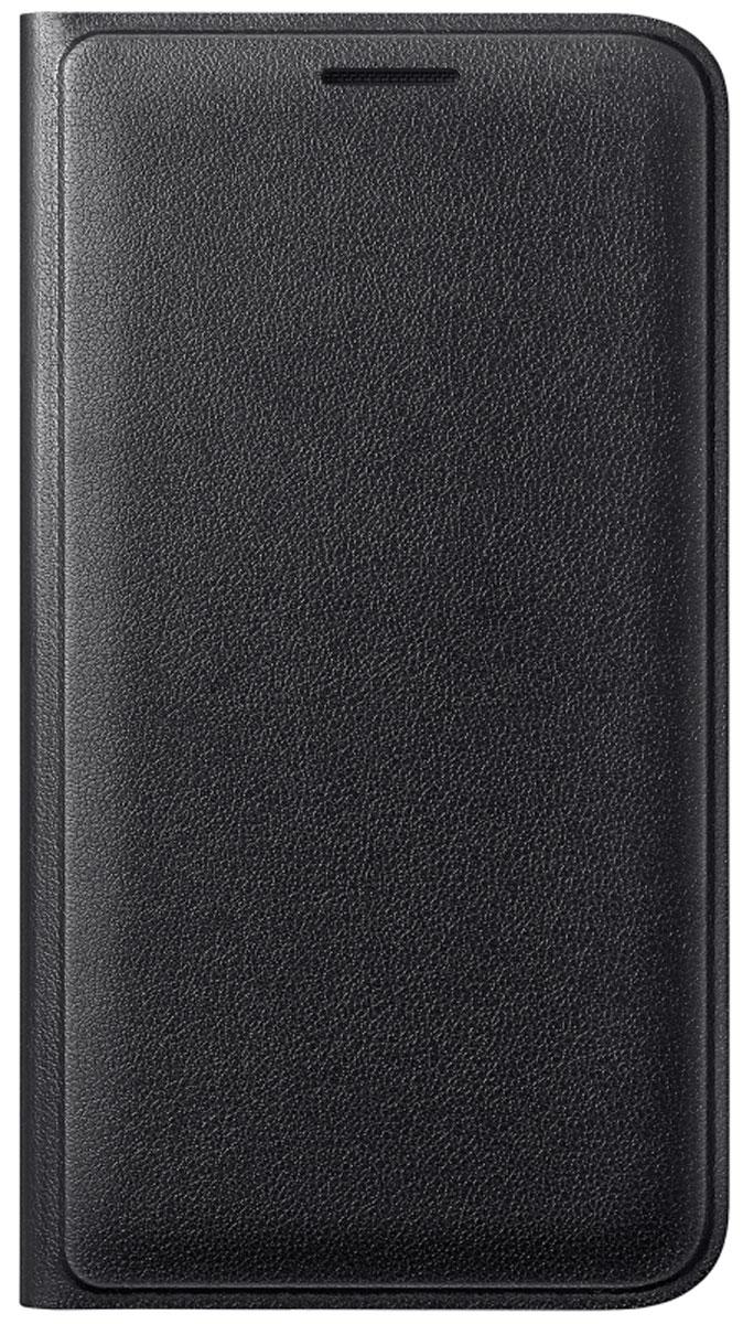 Samsung EF-FJ120 Flip Wallet чехол для Galaxy J1 (2016), BlackEF-WJ120PBEGRUЧехол-книжка Samsung Flip Wallet для Galaxy J1 защищает корпус устройства от внешних повреждений. Высококачественные материалы обеспечат долгий срок службы как чехла, так и смартфона. Эргономичный дизайн сделает использование гаджета еще более удобным, а тонкие формы не увеличивают размеры устройства. Чехол имеет свободный доступ ко всем разъемам и кнопкам устройства.