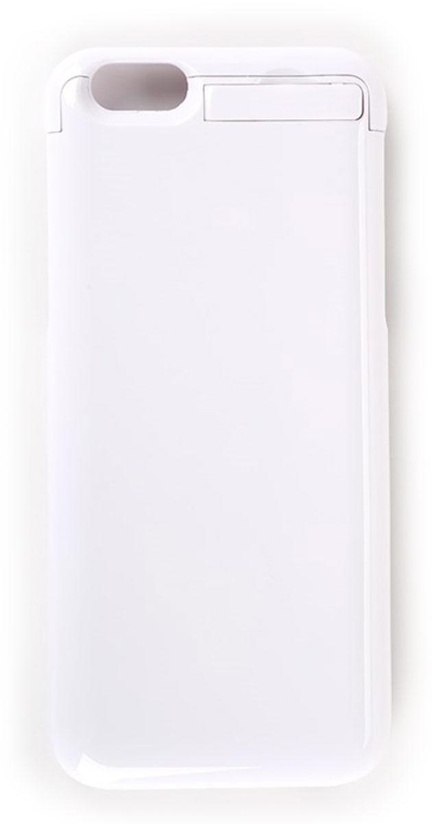 EXEQ HelpinG-iC09, White чехол-аккумулятор для iPhone 6 (3300 мАч, клип-кейс)HelpinG-iC09 WHПодбираете надежный и стильный чехол для своего любимого смартфона? Предлагаем рассмотреть уникальное предложение и купить чехол-аккумулятор Exeq HelpinG-iC09. Лаконичный дизайн, практичная цветовая гамма, надежная защита и дополнительный аккумулятор с емкостью в 3300 мАч. Такой уникальный чехол не только обеспечит высокую степень защиты вашему iPhone 6, но и гарантирует его бесперебойную работу в течение длительного времени. Удобная конструкция чехла-аккумулятора Exeq HelpinG-iC09 создана таким образом, чтобы практически полностью повторять контуры телефона и совсем незначительно увеличивать его габариты и вес. Идеальное совмещение всех разъемов на телефоне и чехле позволит не вынимать телефон из чехла длительное время. Зарядка Exeq HelpinG-iC09 происходит от зарядного устройства телефона - достаточно просто подсоединить устройство к чехлу. Для зарядки телефона, его также не нужно извлекать из чехла - просто подключите зарядное к чехлу и нажмите кнопку...