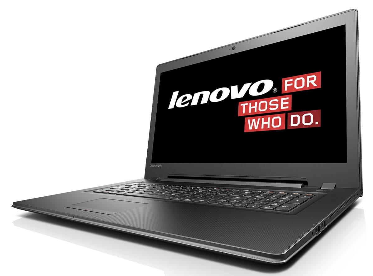 Lenovo IdeaPad B71-80, Black Grey (80RJ00F2RK)80RJ00F2RKLenovo IdeaPad B71-80 - ноутбук для бизнеса с возможностями настольного компьютера. Отличная производительность, широкие возможности Новое поколение процессоров Intel обеспечивает отличное качество графики и высокую производительность. Его вычислительная мощность откроет перед вами новый уровень возможностей для работы и развлечений. Благодаря продолжительному времени работы от аккумулятора устройство можно использовать в дороге, не беспокоясь о подзарядке. Его возможности действительно впечатляют. Ноутбук B71 подходит не только для решения бизнес-задач и замены настольного ПК. Он обладает великолепными мультимедийными функциями для просмотра фильмов: приводом DVD и сертифицированной акустической системой Dolby для объемного звучания с эффектом погружения. B71 по плечу любая задача: работа, игры, прослушивание музыки. С помощью модулей связи 802.11 b/g/n Wi-Fi и Bluetooth 4.0 вы сможете с легкостью выходить в Интернет отовсюду....