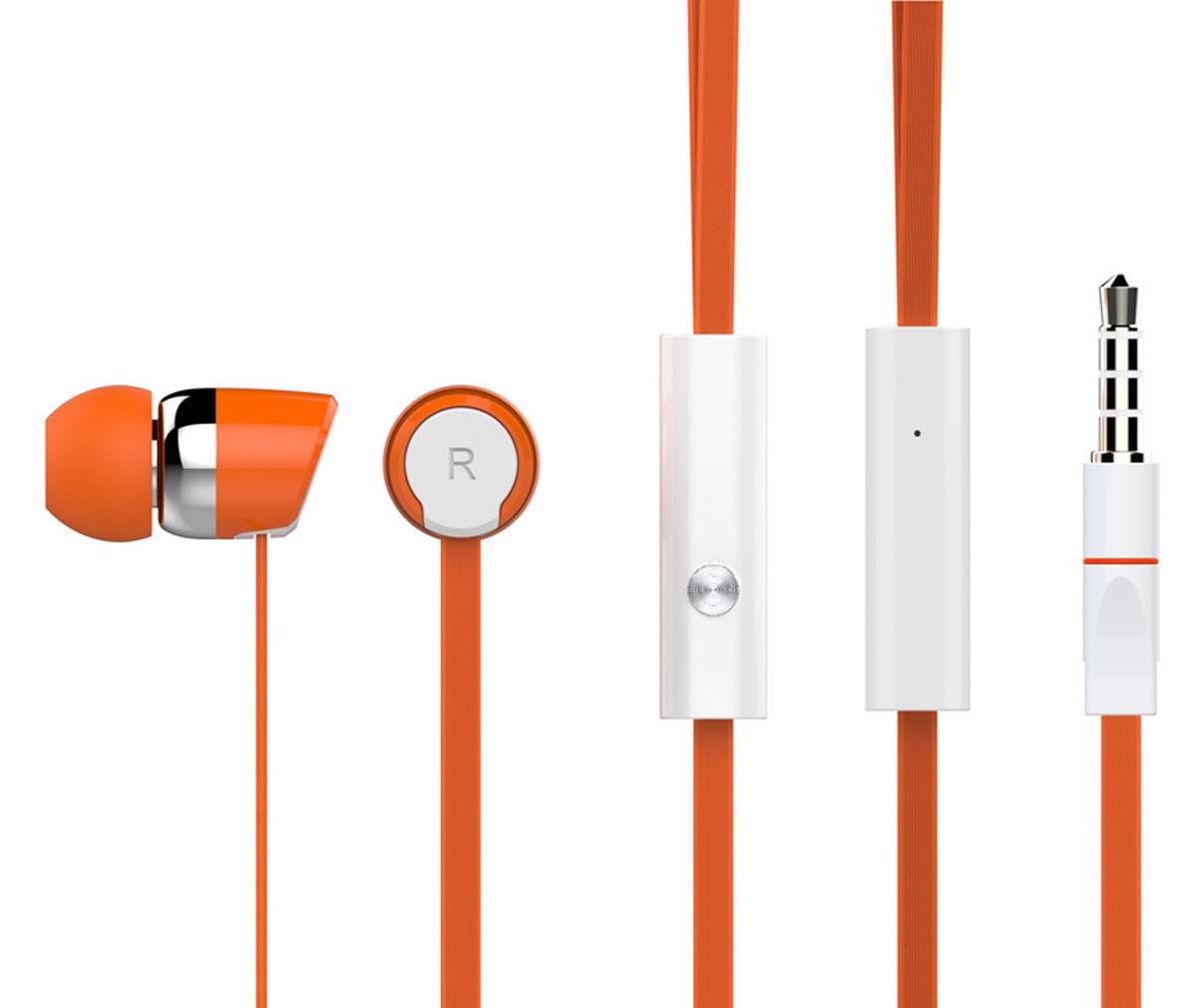 Harper Kids HV-104, Orange наушникиH00000768Яркие и стильные наушники Harper Kids HV-104 с люминесцентным покрытием (светятся в темноте). Гарнитура имеет встроенный пульт и микрофон для быстрого переключения между музыкой и вызовами. Подключив её к своему смартфону или планшету вы сможете не только наслаждаться любимой музыкой, но и с легкостью ответить на звонок, не доставая гаджет. Гарнитура имеет плоский, эластичный и устойчивый к запутыванию кабель длиной 1,2 метра. В комплекте с наушниками идут мягкие силиконовые накладки 3-х размеров для максимального комфорта.