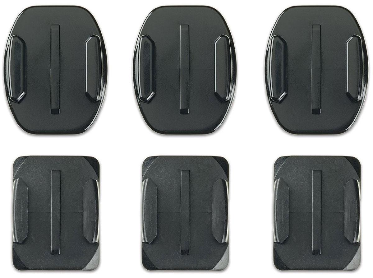 GoPro Flat + Curved Adhesive Mounts, Black крепление для экшн-камеры AACFT-001