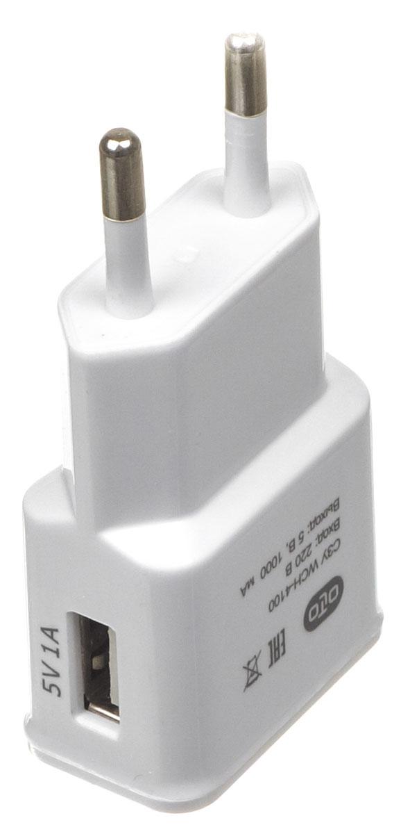 OLTO WCH-4100 сетевое зарядное устройствоO00000564Сетевое зарядное устройство OLTO WCH-4100 предназначено для зарядки и питания мобильного устройства от бытовой сети переменного тока. Вы можете заряжать любые устройства, совместимые с выходным током зарядки до 1А и напряжением 5В.