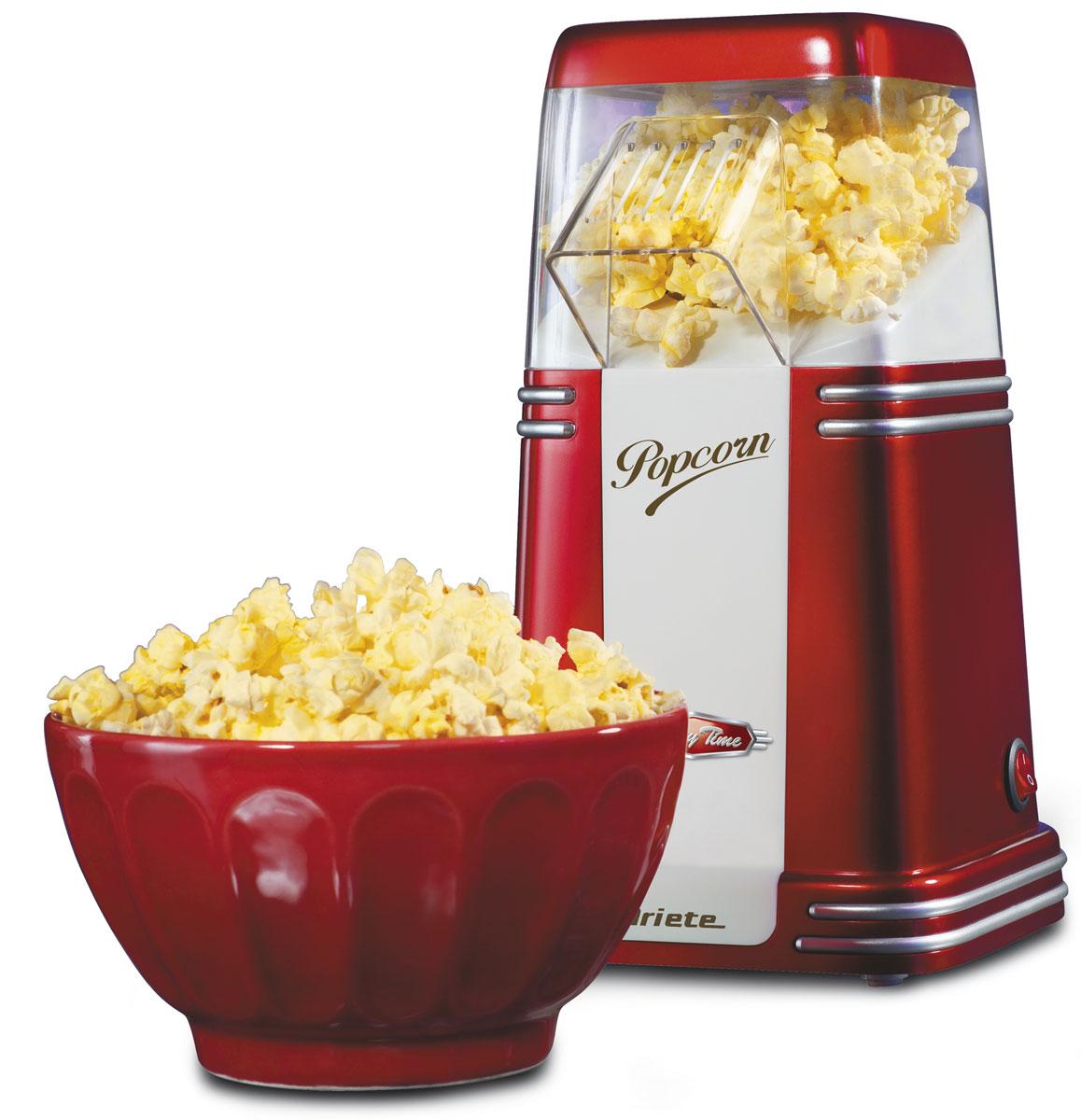 Ariete Pop Corn Popper Party Time прибор для приготовления попкорна (2952) электровафельница ariete 187 party time