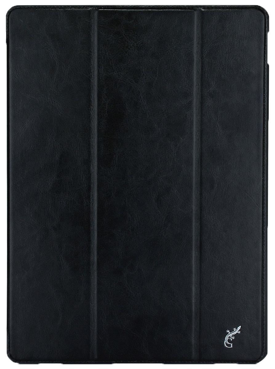 G-Case Slim Premium чехол для iPad Pro, BlackGG-668Защитный чехол G-Case Slim Premium для планшета iPad Pro отличается высокой степенью защиты от попадания влаги и пыли, а также падений и механических ударов. Среди конструктивных особенностей защитного чехла G-case можно отметить наличие двухпозиционной подставки, благодаря которой устройство можно установить в нескольких положениях для удобства пользования. Чехол имеет свободный доступ ко всем разъемам и кнопкам устройства.