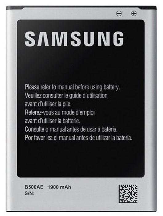Samsung EB-B500AEBECRU cтандартный аккумулятор для S4 miniEB-B500AEBECRUОригинальный литий-ионный аккумулятор EB-B500AEBECRU ёмкостью 1900 мАч разработан специально для Samsung GALAXY S4 mini и обеспечивает надёжную и продолжительную работу смартфона. Оригинальные литий-ионные аккумуляторы созданы исключительно для смартфонов Samsung, обеспечивая длительную работу мобильных устройств. Они надёжны и безопасны, поскольку прошли длительное тестирование и процесс сертификации. Для продления времени работы смартфона лучше всегда иметь при себе запасной аккумулятор.
