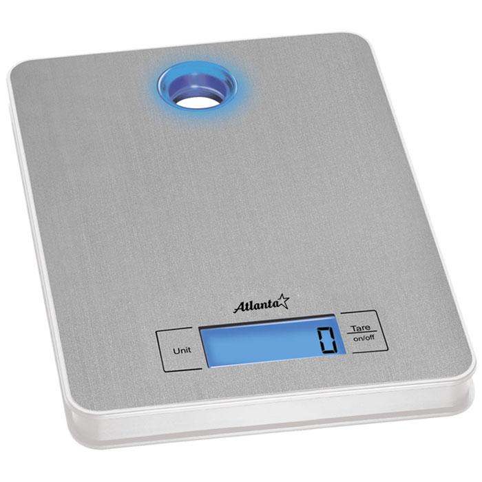 Atlanta ATH-804 весы кухонныеATH-804Кухонные электронные весы Atlanta ATH-804 - незаменимые помощники современной хозяйки. Они помогут точно взвесить любые продукты и ингредиенты. Кроме того, позволят людям, соблюдающим диету, контролировать количество съедаемой пищи и размеры порций. Предназначены для взвешивания продуктов с точностью измерения до 1 грамма. Полностью электронная технология Авто отключение Функция обнуления веса