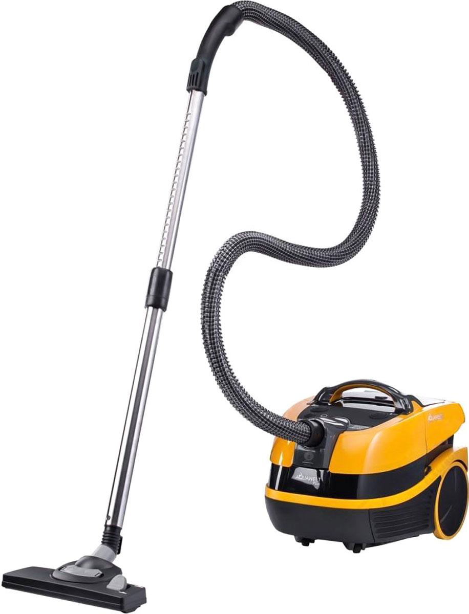 Zelmer ZVC 762ZPRU, Black Yellow пылесосZVC 762ZPRUZelmer Aquawelt Plus - это моющий пылесос в современном стиле со множеством практичных функций. С его помощью можно проводить сухую уборку, собирать жидкости и мокрую грязь, а также мыть ковры. Пылесос может работать как в режиме с мешком Safbag, так и с контейнером с водой - в режиме без мешка. О чистоте выходящего воздуха заботится двойная система фильтрации - водяной фильтр и моющийся HEPA-фильтр. Пылесос оборудован большим комплектом дополнительных аксессуаров, в частности насадкой для влажной уборки и сбора воды, щеткой для паркета с натуральным ворсом и турбощеткой для уборки нежных покрытий чувствительных к царапинам. Многофункциональный – сбор воды, влажная уборка ковров, уборка пыли в мешок или контейнер с водой Щетка для паркета – для половых покрытий чувствительных к царапинам Двойная система фильтрации - водяной фильтр и HEPA-фильтр эффективно улавливают из воздуха частицы размером 0,3 микрона