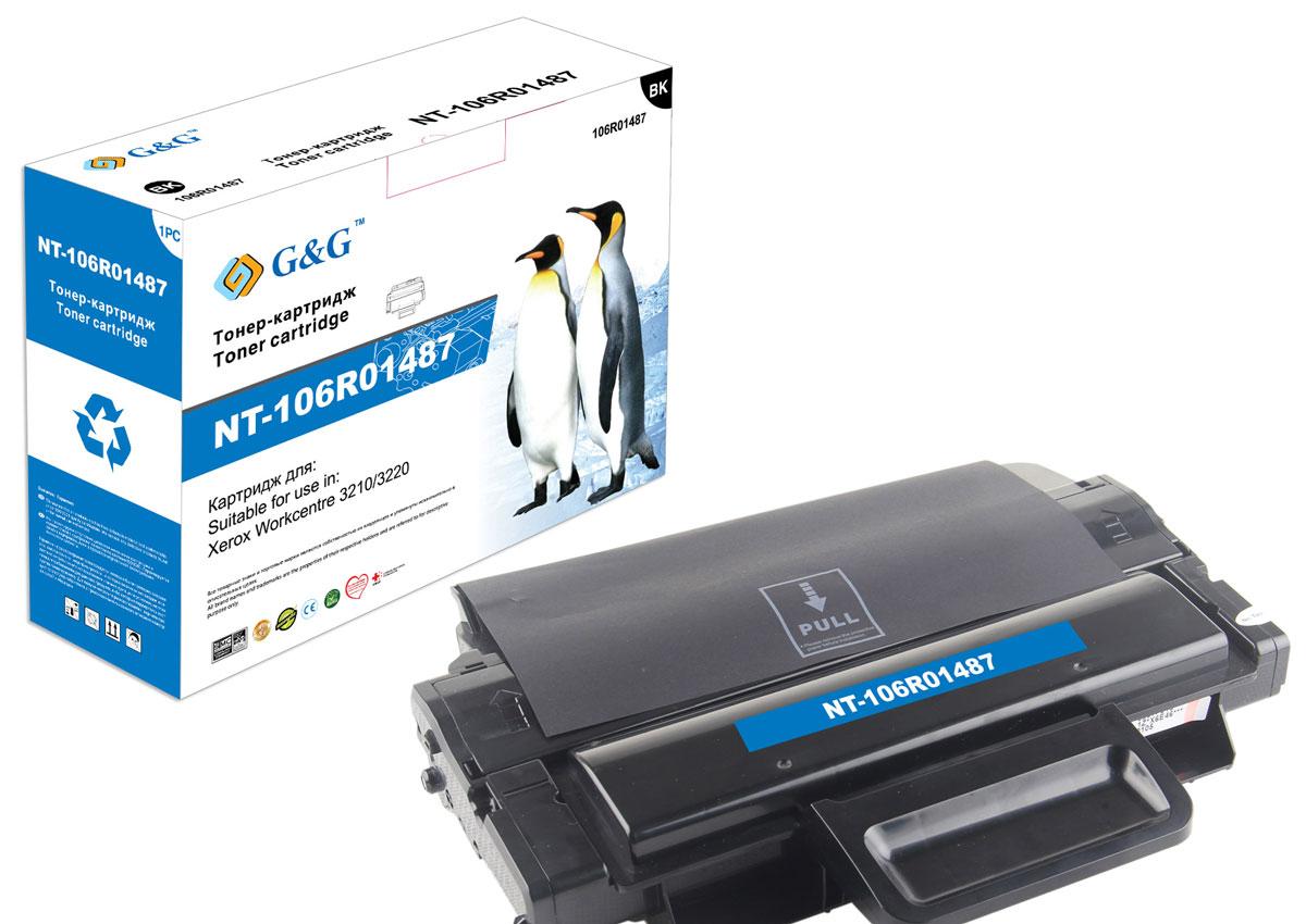 G&G NT-106R01487 тонер-картридж для Xerox WorkCentre 3210/3220NT-106R01487Картридж G&G NT-106R01487 для лазерных принтеров Xerox WorkCentre 3210/3220. Расходные материалы G&G для лазерной печати максимизируют характеристики принтера. Обеспечивают повышенную чёткость чёрного текста и плавность переходов оттенков серого цвета и полутонов, позволяют отображать мельчайшие детали изображения. Обеспечивают надежное качество печати.