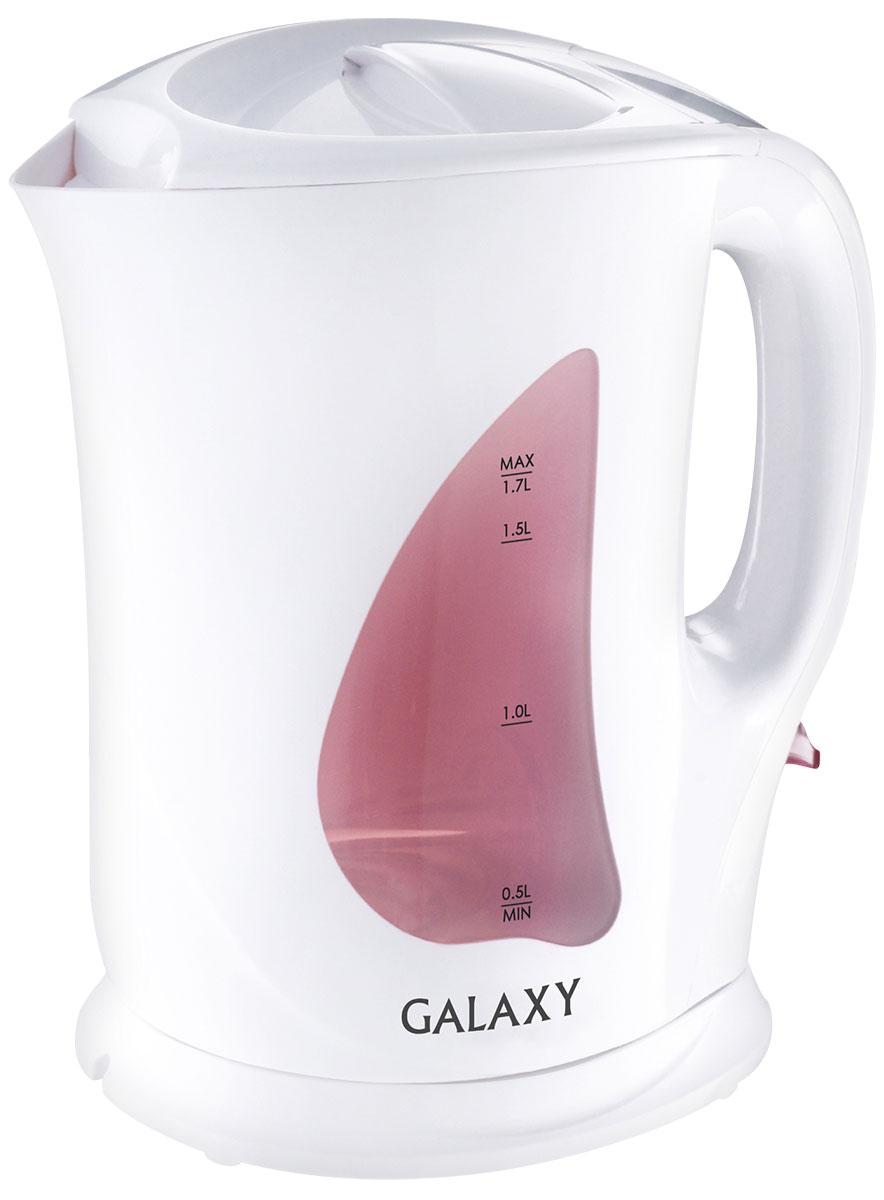 Galaxy GL 0106 чайник электрический4630003366177Электрический чайник Galaxy GL 0106 отвечает всем современным требованиям надежности и безопасности. При его производстве используются только высококачественные и экологически безопасные материалы, а также нагревательный элемент высокого класса надежности. Galaxy GL 0106 будет служить вам долгие годы, наполняя ваш быт комфортом!