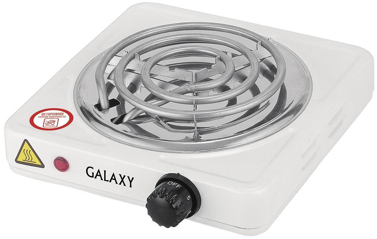 Galaxy GL 3003 плитка электрическая4630003366283Надежная электроплита Galaxy GL 3003 с конфоркой диаметром 14 см. Идеальна для дома и дачи, в любое время года. Компактный корпус, покрытый эмалью, позволяет легко мыть и ухаживать за прибором. Имеет регулятор нагрева и индикацию включения. Длина шнура питания: 0,8 м