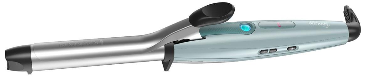 Remington CI8725 щипцы для завивки волосCI8725Познакомьтесь с новыми щипцами PROtect от Remington, которые совершают настоящий прорыв в стайлинге и гарантируют красивые, гладкие и стойкие локоны с меньшим до 62% повреждением волос. Щипцы PROtect обеспечивают профессиональный стайлинг с защитой от теплового повреждения волос, благодаря инновационной технологии HydraCare. Пять температурных режимов до 220°C, встроенный цифровой дисплей. Плюс, усовершенствованное керамическое покрытие основания способствует бережному стайлингу без запутывания и вытягивания волос. Система запирания надежно удерживает локон для профессионального качества укладки. Основание 22 мм выполнено из усовершенствованной керамики, пропитанной миксом из супер-питательных микро-кондиционеров, с Кератином, маслом Арганы и Макадамии для придания волосам блеска и сохранения здоровья. С щипцами PROtect вы сможете создавать потрясающие кудри на целый день. Технология HydraCare обеспечивает идеальный баланс между...