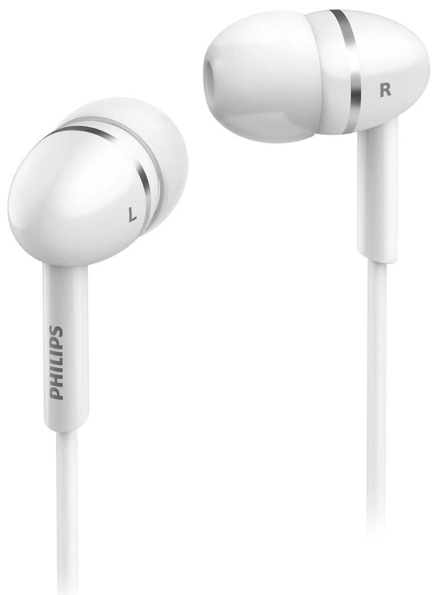 Philips SHE1450WT/51 наушникиSHE1450WT/51Крохотные излучатели наушников Philips SHE1450 обеспечивают плотность прилегания и полностью заполняют ушную раковину, что заглушает внешние источники звука и увеличивает впечатления от прослушивания. Излучатели воспроизводят динамичные низкие частоты и чистый звук. Идеальная длина кабеля, позволяет разместить аудиоустройство в нужном вам месте. Мягкая резиновая прокладка между наушниками и кабелем защищает соединение от разрыва при постоянном сгибании и продлевает срок службы наушников. В комплект входят 3 пары резиновых насадок разного размера, и вы гарантированно подберете пару, с которой эти наушники Philips будут сидеть идеально.