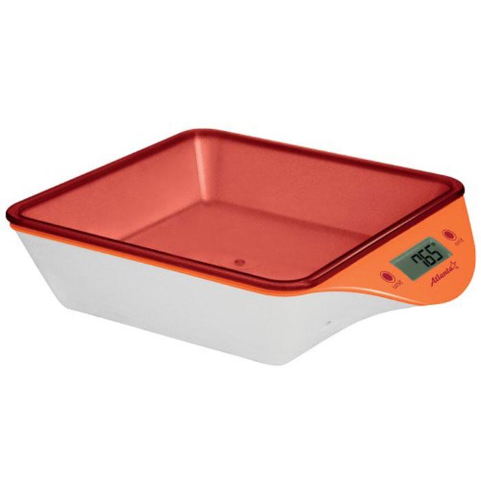 Atlanta ATH-6201, Orange весы кухонныеATH-6201_orangeКухонные электронные весы Atlanta ATH-6201 - незаменимые помощники современной хозяйки. Они помогут точно взвесить любые продукты и ингредиенты. Кроме того, позволят людям, соблюдающим диету, контролировать количество съедаемой пищи и размеры порций. Предназначены для взвешивания продуктов с точностью измерения 1 грамм. ЖК дисплей с подсветкой Сенсорные кнопки Яркий дизайн Функция обнуления веса