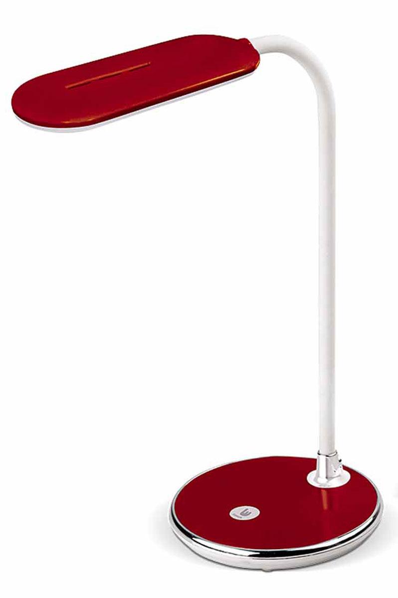 Настольная лампа Лючия Pyxis, цвет: красный, 5 W настольная лампа лючия pegas цвет черный 4 w
