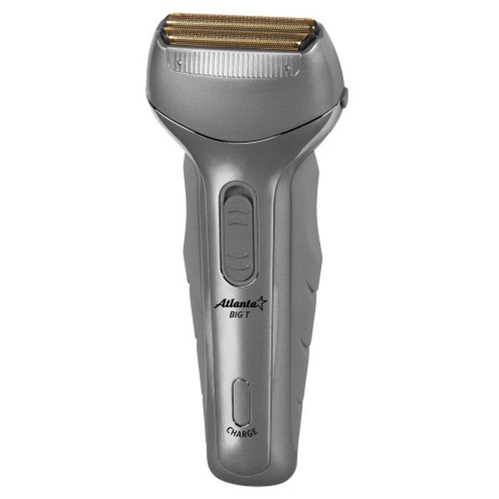 Atlanta ATH-6623 электробритваATH-6623Аккумуляторная бритва Atlanta ATH-6623, обеспечивающая точное гладкое бритье, позволяет сделать этот процесс более комфортным, качественным и совершенно безопасным. Благодаря двум свободно плавающим головкам волоски сбриваются быстро и эффективно, так что процесс бритья займет у вас минимум времени. Кроме того, бритва оснащена встроенным триммером, который позволит вам оформить бороду, усы или бакенбарды. Подходит для сухого и для влажного бритья. Благодаря мощному аккумулятору, бритва на одной подзарядке способна работать до 10 дней.