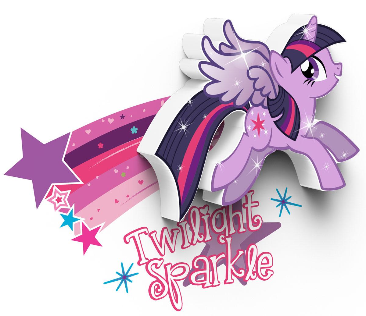 My Little Pony Пробивной 3D мини-светильник Twilight Sparkle