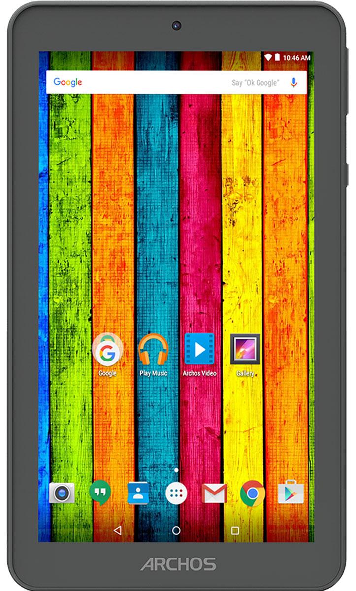 Archos 70b Neon70B NEONARCHOS 70b Neon является одним из самых доступных планшетов на рынке. Он включает в себя мощный четырехъядерный процессор, который работает на одной из новейших операционных систем Android: Android 5.1 Lollipop. Удивительные 7-дюймовый IPS-дисплей обеспечивает невероятную живость картинки и широкие углы обзора, идеально подходит для наслаждения контентом на ходу. ARCHOS 70b Neon разработан, чтобы предложить уникальный мультимедийный опыт. Сочетая широкий формат и портативность, ARCHOS 70b Neon использует сенсорный дисплей диагональю 7 дюймов и мощный четырехъядерный процессор, идеально подходящий для работы с мультимедиа, приложениями и интернет серфинга. ARCHOS 70b Neon отлично подходит не только для видеовызовов, но и для запечатления незабываемых моментов благодаря наличию передней и задней камер. В комплект ARCHOS 70b Neon входит 8ГБ встроенной флэш-памяти, расширяемой через микро SD-слот с поддержкой микро SD-карт до 32ГБ. ...