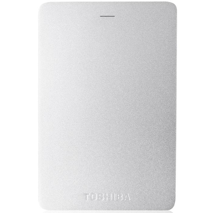 Toshiba Canvio Alu 500GB, Silver внешний жесткий диск (HDTH305ES3AA)