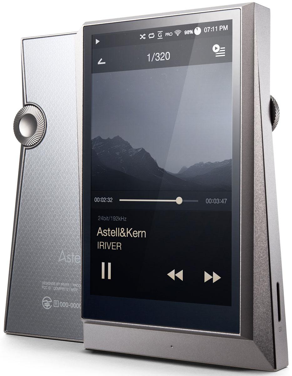 Astell&Kern AK320 128GB, Gunmetal MP3-плеер15118300128Гб, 4, 480*800, сенсорный дисплей, 2хDAC, форматы аудио: WAV, FLAC, WMA, MP3, OGG, APE, AAC, ALAC, AIFF, DFF, DSF ,эквалайзер, MicroSD до 128 Гб, литий-полимерный аккумулятор 3400 мАч, вес 217 г, USB DAC цвет- оружейная сталь