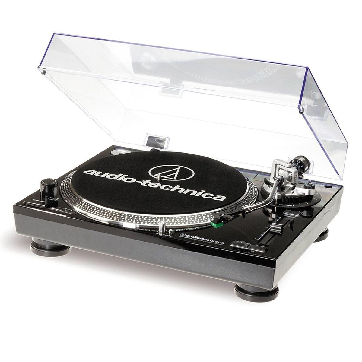 Audio-Technica AT-LP120-USBHC, Black проигрыватель виниловых дисков