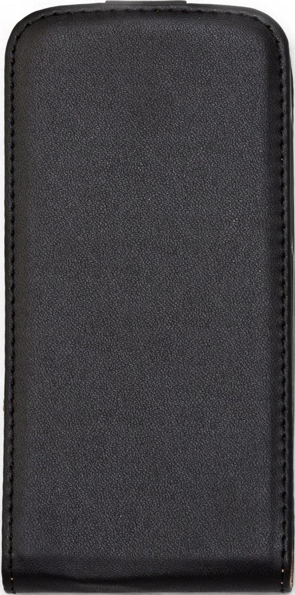Skinbox Flip Case чехол для HTC Desire 500, Black2000000015422Чехол Skinbox Flip Case для HTC Desire 500 выполнен из высококачественного поликарбоната и экокожи. Он обеспечивает надежную защиту корпуса и экрана смартфона и надолго сохраняет его привлекательный внешний вид. Чехол также обеспечивает свободный доступ ко всем разъемам и клавишам устройства.