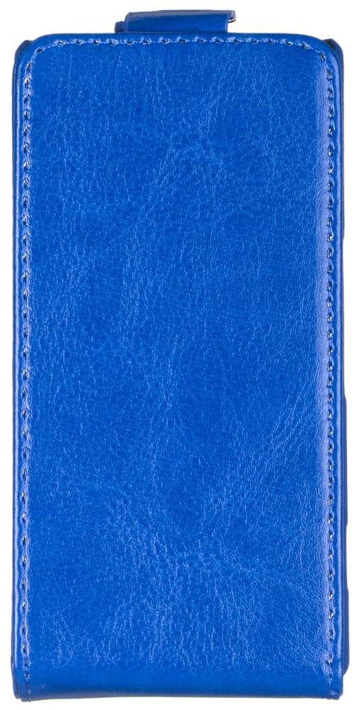 Skinbox Flip Case чехол для Sony Xperia M, Blue2000000059075Чехол Skinbox Flip Case выполнен из высококачественного поликарбоната и экокожи. Он надежно защитит ваше устройство от пыли, влаги и механических повреждений. Обеспечивает свободный доступ ко всем разъемам и клавишам смартфона.