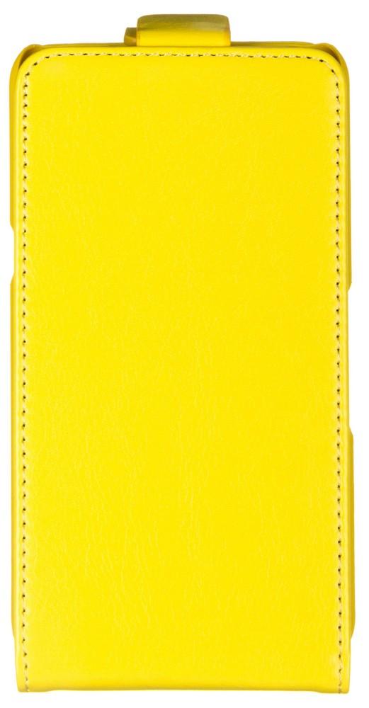 Skinbox Flip Case чехол для Sony Xperia E4g, Yellow2000000062945Чехол Skinbox Flip Case для Sony Xperia E4g выполнен из высококачественного поликарбоната и экокожи. Он обеспечивает надежную защиту корпуса и экрана смартфона и надолго сохраняет его привлекательный внешний вид. Чехол также обеспечивает свободный доступ ко всем разъемам и клавишам устройства.