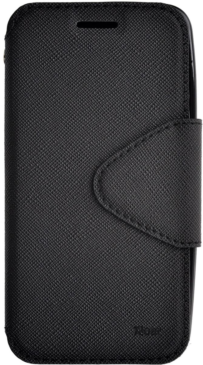 Roar AW чехол для Asus ZenFone 4 (A400CG), Black2000000078724Чехол Roar AW выполнен из высококачественной искусственной кожи и поликарбоната. Он отлично справляется с защитой корпуса смартфона от механических повреждений и надолго сохраняет привлекательный внешний вид устройства. Чехол также обеспечивает свободный доступ ко всем разъемам и клавишам устройства.