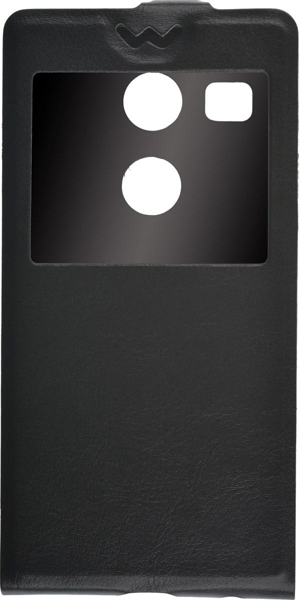 Skinbox Flip Slim чехол для LG Nexus 5X, Black2000000081908Чехол Skinbox Flip Slim для LG Nexus 5X выполнен из высококачественного поликарбоната и экокожи. Он обеспечивает надежную защиту корпуса и экрана смартфона и надолго сохраняет его привлекательный внешний вид. Чехол также обеспечивает свободный доступ ко всем разъемам и клавишам устройства. Благодаря функциональному окну отсутствует необходимость открывать чехол для того, чтобы ответить на вызов, проверить время, воспользоваться камерой или любой другой функцией.