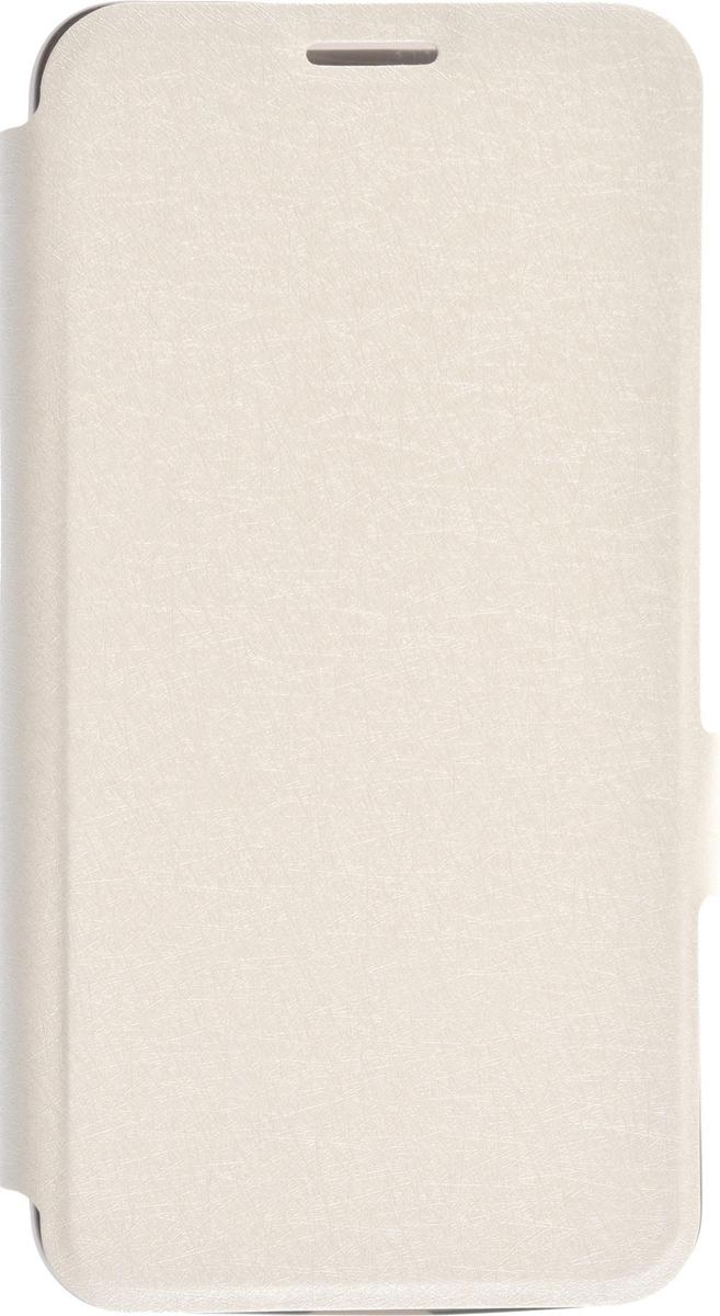 Prime Book чехол для Microsoft Lumia 550, White2000000082530Чехол Prime Book для Microsoft Lumia 550 выполнен из высококачественного поликарбоната и экокожи. Он обеспечивает надежную защиту корпуса и экрана смартфона и надолго сохраняет его привлекательный внешний вид. Чехол также обеспечивает свободный доступ ко всем разъемам и клавишам устройства.