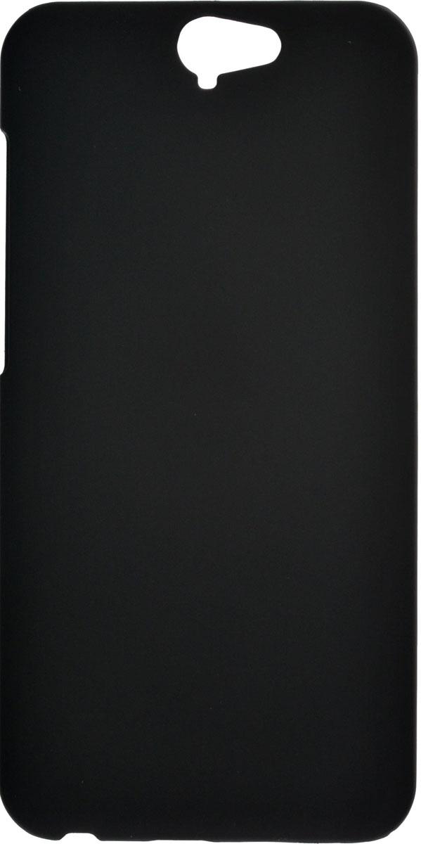 Skinbox 4People чехол для HTC One A9, Black2000000084312Чехол-накладка Skinbox 4People для HTC One A9 бережно и надежно защитит ваш смартфон от пыли, грязи, царапин и других повреждений. Выполнена из высококачественного поликарбоната, плотно прилегает и не скользит в руках. Чехол-накладка оставляет свободным доступ ко всем разъемам и кнопкам устройства.