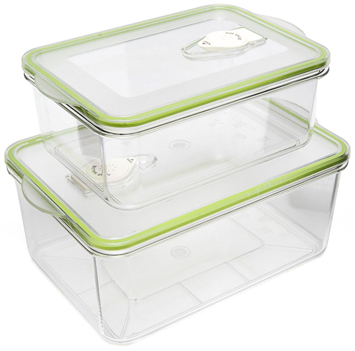 Kitfort КТ-1500-01 контейнер для вакуумного упаковщикаКТ-1500-01Kitfort КТ-1500-01 - набор контейнеров для вакуумного упаковщика. Они подходят не только для вакуумирования и хранения, но и для замораживания и разогрева в СВЧ-печи. Температурный диапазон эксплуатации: -20 – +120 °С