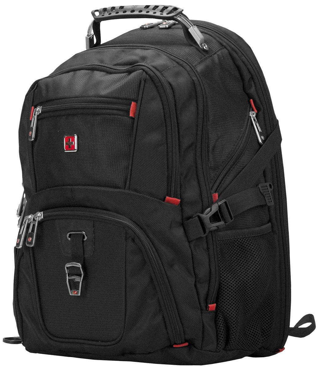 "Continent BP-301 BK, Black рюкзак для ноутбука 16"""