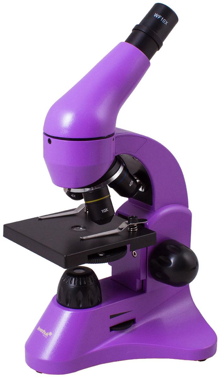 Levenhuk Rainbow 50L, Amethyst микроскоп