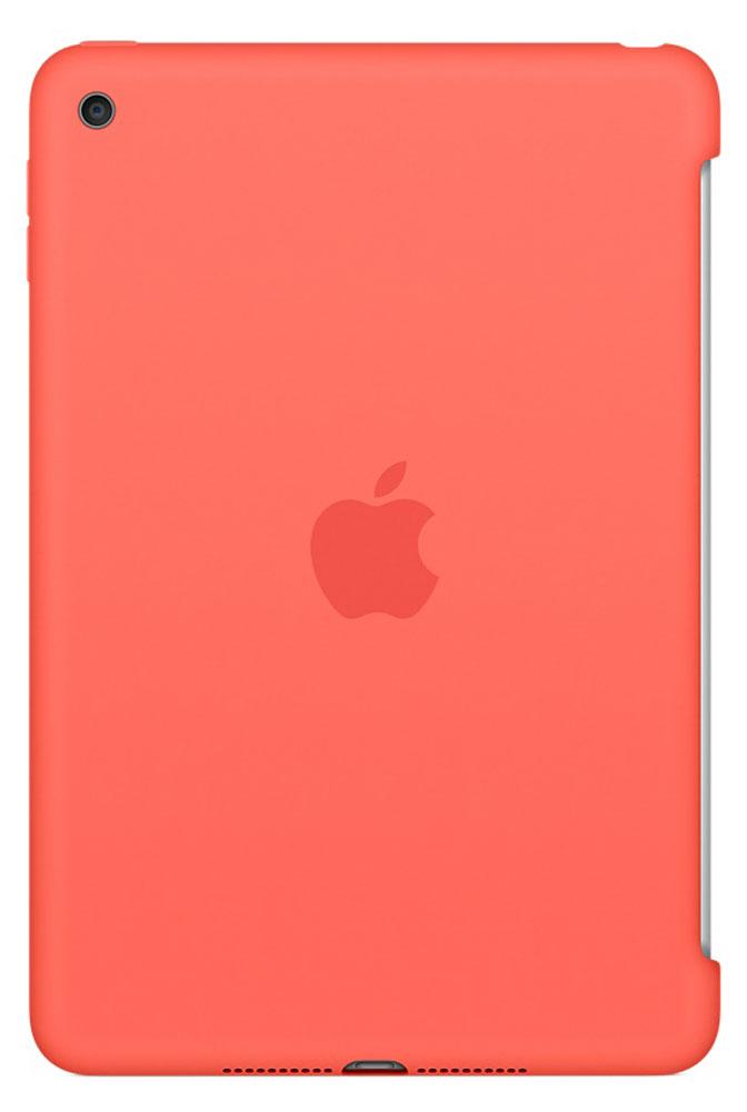 Apple Silicone Case чехол для iPad mini 4, ApricotMM3N2ZM/AСиликоновый чехол защищает заднюю поверхность iPad mini 4 и идеально совместим со Smart Cover, чтобы ваше устройство было в безопасности с обеих сторон. Чехол с гладкой силиконовой поверхностью очень приятен на ощупь и надёжно оберегает iPad mini 4, сохраняя его корпус таким же тонким и изящным.