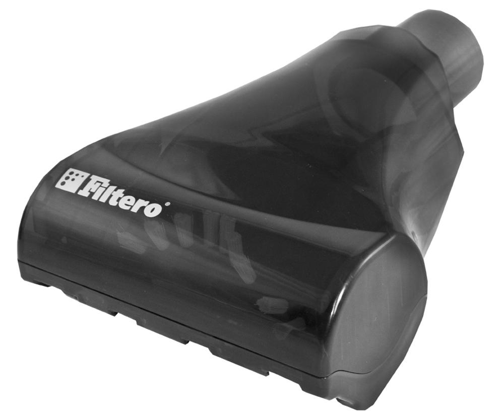 Filtero FTN 22 мини турбо-щетка для пылесосов универсальнаяFTN 22Мини турбо-щетка Filtero FTN 22 для уборки любых ковровых покрытий и мягкой мебели. Компактная рабочая зона щетки позволяет достичь максимального эффекта как при уборке ковром, так и при чистке мягкой мебели. Разборный корпус позволяет легко очистить вращающийся вал. Оснащена переходником с универсальным зажимом, который обеспечивает возможность использования насадки с большинством пылесосов известных марок, с диаметром удлинительной трубки 30-37 мм. Эффективная конструкция турбины позволяет использовать ее с любыми, даже маломощными пылесосами.