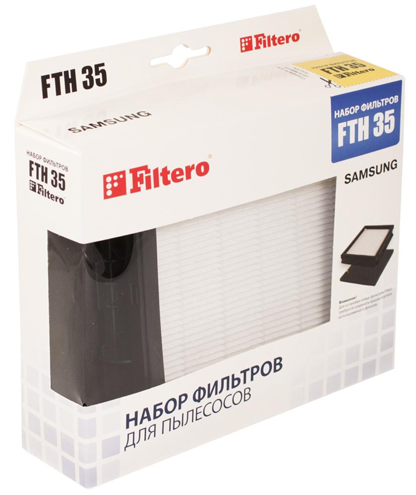 Filtero FTH 35 набор фильтров для пылесосов SamsungFTH 35Немоющийся фильтр Filtero FTH 35 имеет уровень фильтрации НЕРА Н 12. Он препятствует выходу мельчайших частиц пыли и аллергенов из пылесоса в помещение. Подлежит замене, согласно рекомендации производителя пылесосов - не реже одного раза за 6 месяцев.
