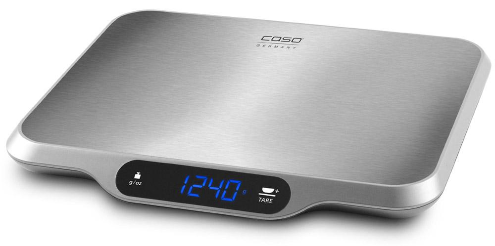 CASO L 15, Silver кухонные весыL 15Кухонные электронные весы CASO L 15 - незаменимые помощники современной хозяйки. Они помогут точно взвесить любые продукты и ингредиенты. Кроме того, позволят людям, соблюдающим диету, контролировать количество съедаемой пищи и размеры порций. Предназначены для взвешивания продуктов с точностью измерения до 1 грамма. Размер платформы: 30 см х 22 см Большой дисплей Сенсорное управление