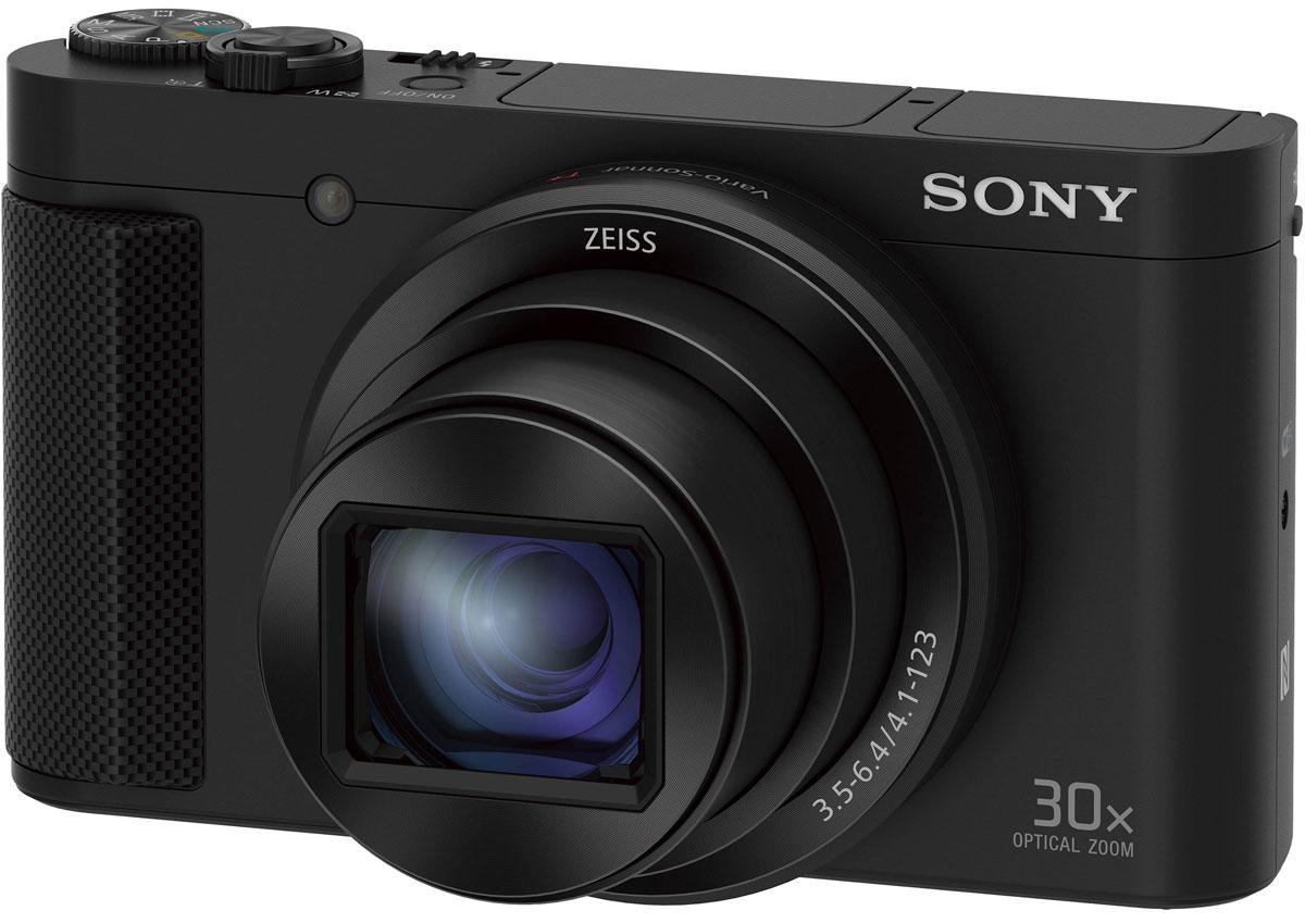 Sony Cyber-shot DSC-HX80 цифровая фотокамераDSC-HX80/BФотокамеру Sony Cyber-shot DSC-HX80 можно взять с собой в любой ситуации. Она оснащена объективом с 30- кратным зумом, а также отличается высокой скоростью работы и точностью фокусировки при больших фокусных расстояниях и удобством управления, открывая перед вами широкие возможности для полной свободы творчества. В сочетании высокоэффективной матрицы CMOS, высокопроизводительного процессора обработки изображения и легендарной оптики находят реализацию новейшие достижения в области оптики и инженерных решений в невероятно компактной форме. Объектив ZEISS Vario-Sonnar T с 30-кратным зумом расширяет знаменитые возможности высокоточной оптики и позволяет добиваться безупречно четких и резких изображений на всем диапазоне фокусных расстояний 24–720 мм. Матрица Exmor R CMOS с обратной засветкой и с разрешением 18,2 эффективного мегапикселя улавливает больше света и позволяет добиться поразительной детализации в каждом снимке. Все...